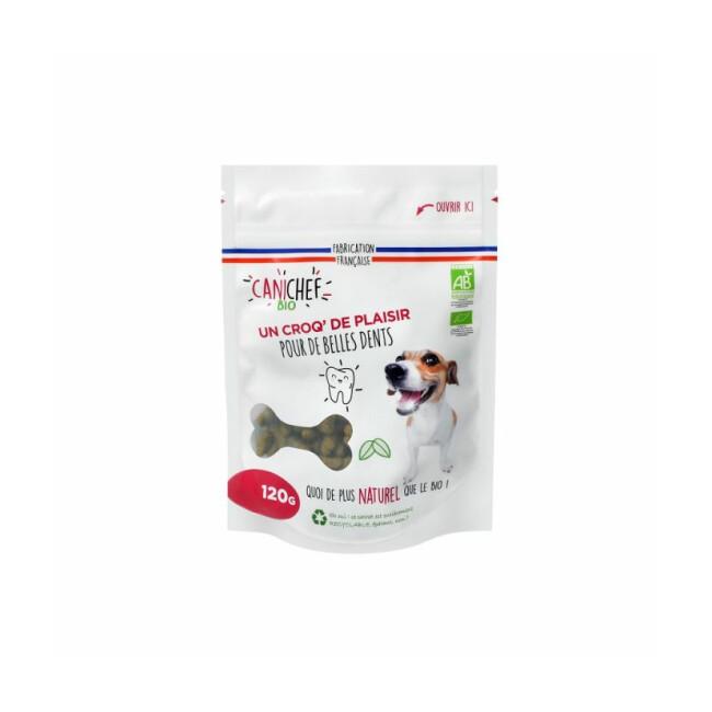 Friandises Canichef Bio pour hygiène bucco-dentaire du chien