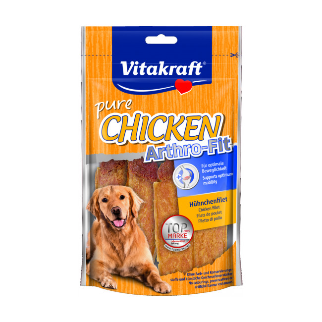 Friandises filets de poulet Vitakraft Arthro-Fit 70 g