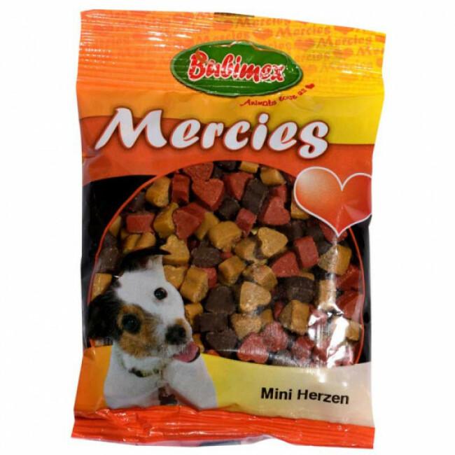 Friandises mini cœurs pour chien Mercies 100 g