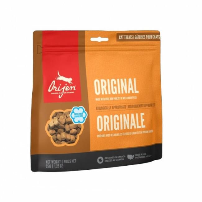 Friandises Orijen Original treats pour chat Sachet 35 g