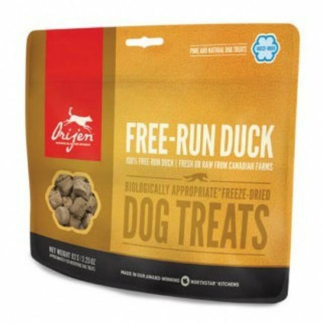 Friandises Orijen sans céréales Free Run Duck Treats pour Chien