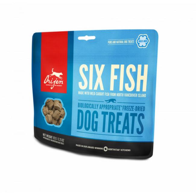 Friandises Orijen Six Fish treats pour chien