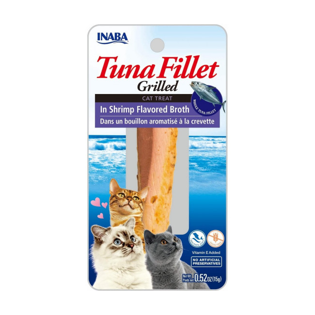 Friandises pour chat Inaba filet de thon