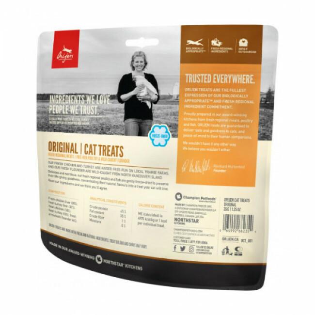 Friandises pour chat Original Treats Orijen Sachet 35 g