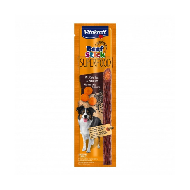 Friandises pour chien Beef Stick Superfood Vitakraft 25 g