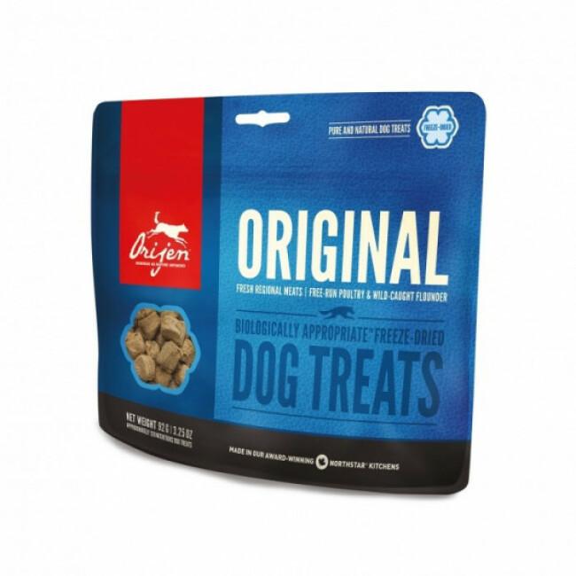 Friandises pour chien Orijen Original treats Sachet 92 g