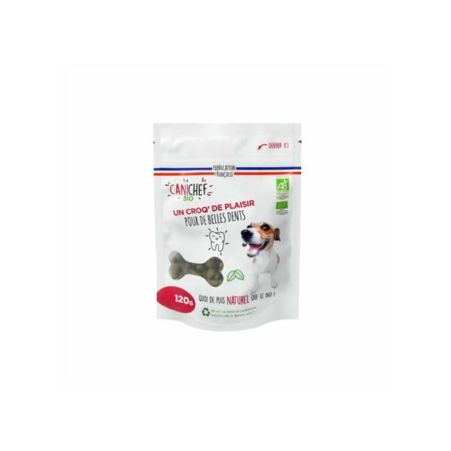 Friandises pour hygiène bucco-dentaire Canichef Bio du chien