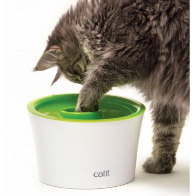Gamelle 3 en 1 pour chat Senses 2.0 Cat it