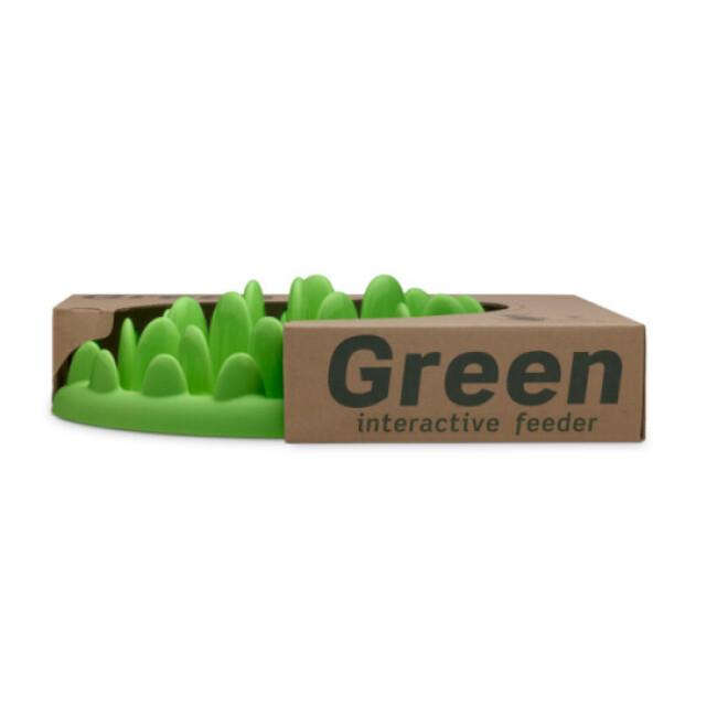 Gamelle anti-glouton GREEN pour chien