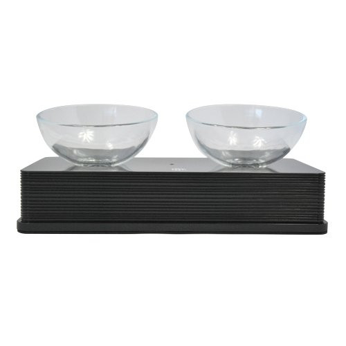 Gamelle double Glass Diner Catit 2 x 200 ml