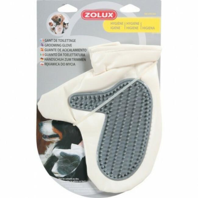 Gant de toilettage pour chien ou chat Zolux