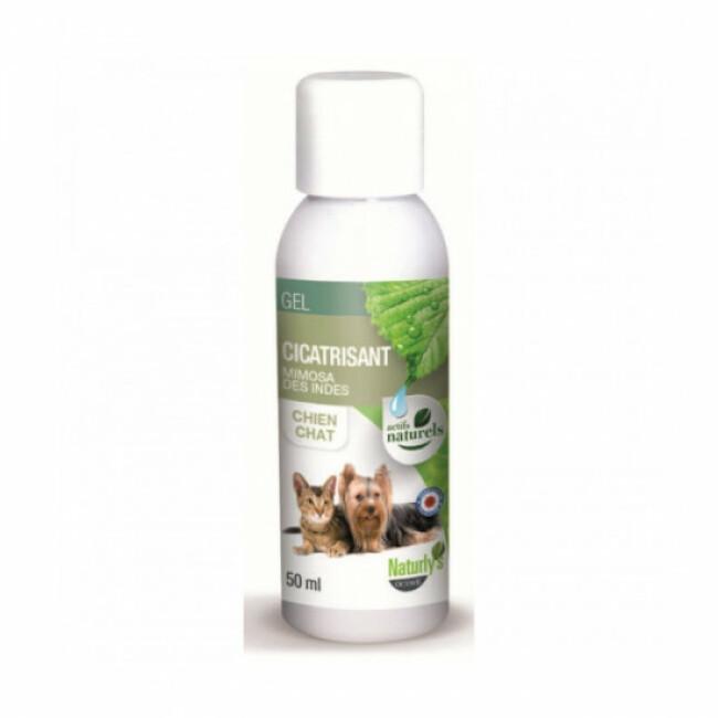 Gel Cicatrisant pour chiens et chats Naturlys 50 ml