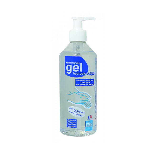 Gel hydroalcoolique à pompe King