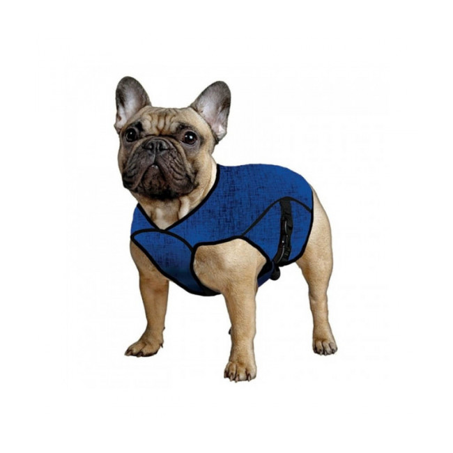 Gilet bleu rafraîchissant Aqua Coolkeeper pour chien