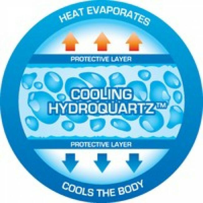 Gilet rafraîchissant bleu pour chien Aqua Coolkeeper
