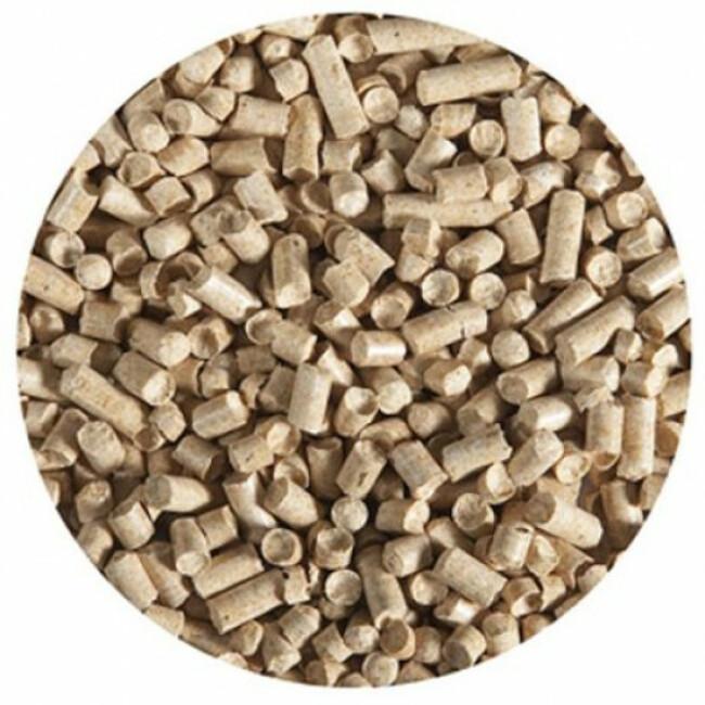 Granulés de bois pour litière pour chat sac 15 kg