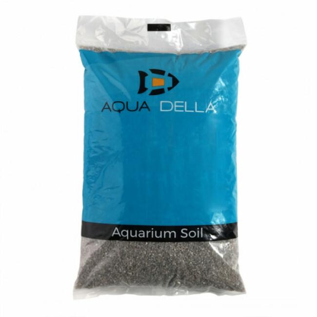 Gravier 2-3 mm quartz pour fond d'aquarium Coloris Gris