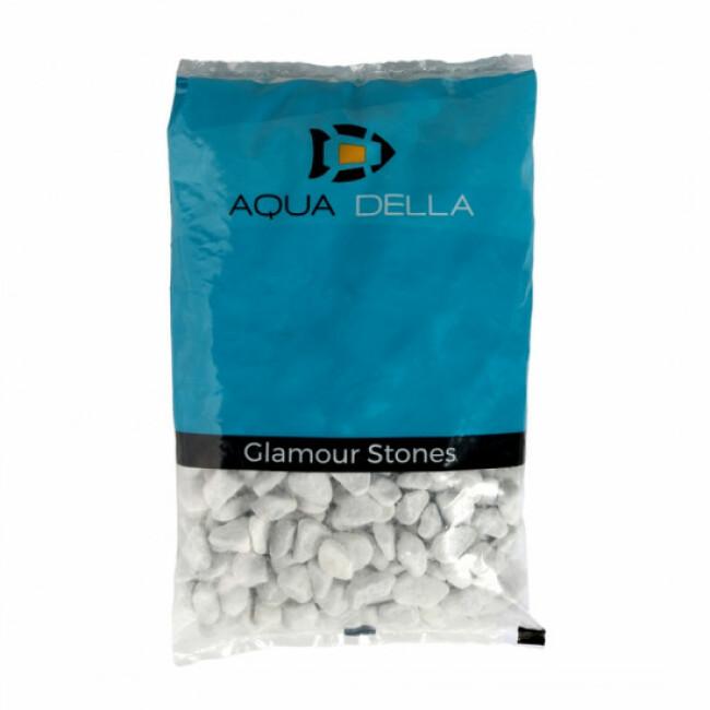 Gravier blanc pour fond d'aquarium Aqua Della