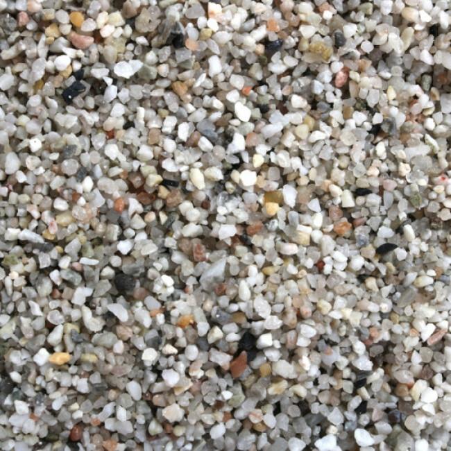Gravier fin 1-3 mm naturel pour fond d'aquarium