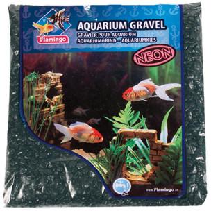 Gravier Neon Micro Noir pour aquarium Flamingo