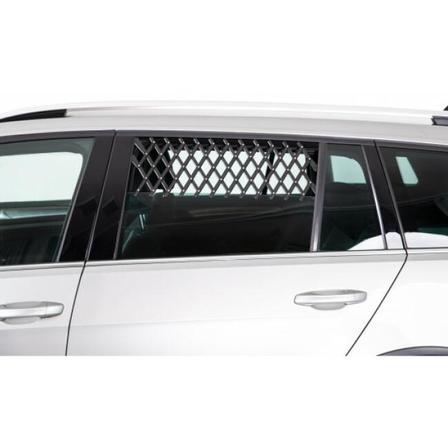 Grille porte de voiture pour aération et sécurité du chien