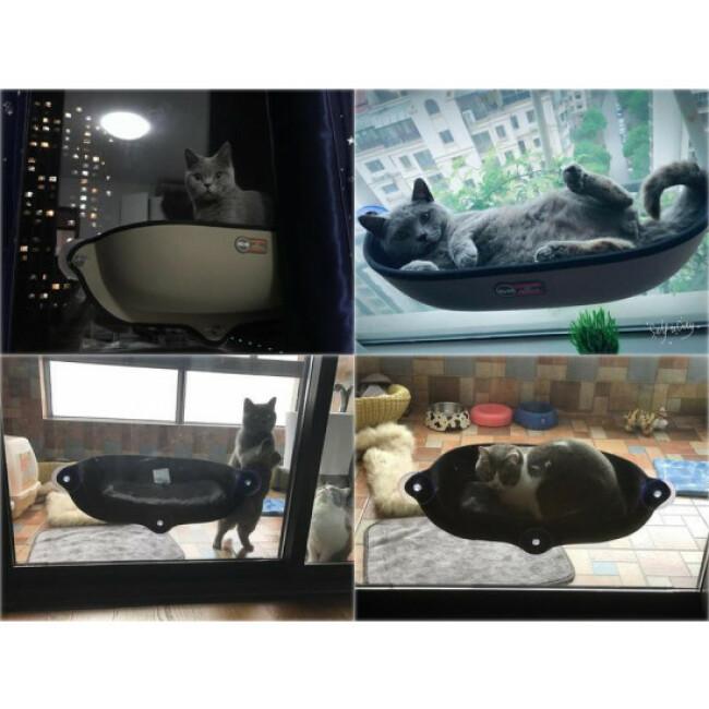 Hamac de fenêtre pour chat Deluxe Anka