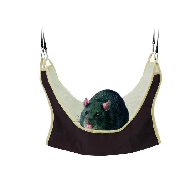 Hamac en nylon pour rats et petits rongeurs Trixie
