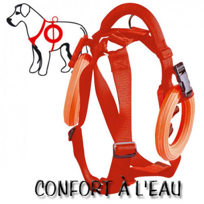 Harnais de travail à l'eau confort pour chien