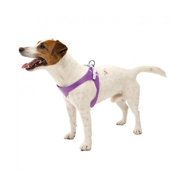 Harnais souple à micro-régulation pour chien Ergoflex P Ferplast blanc