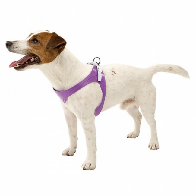 Harnais souple pour chien à micro-régulation Ergoflex P Ferplast noir
