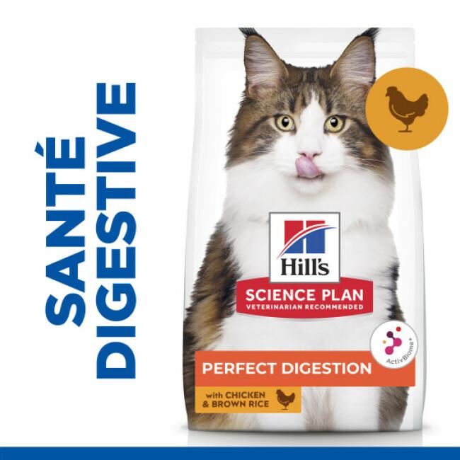 Hill's Science Plan Perfect Digestion au poulet pour chat adulte