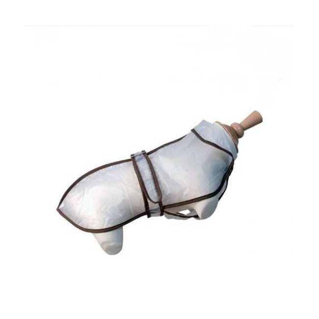 Imperméable transparent pour chien