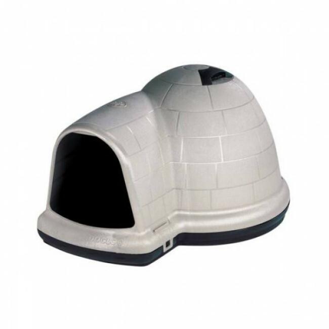 Niche plastique isolée pour chien Indigo Petmate