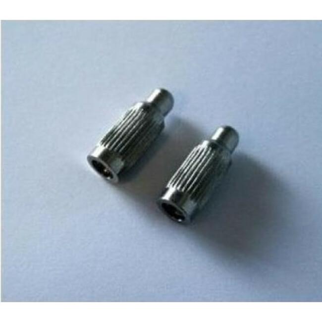 Jeu d'électrodes longues Numaxes pour collier Canicalm et Canifugue