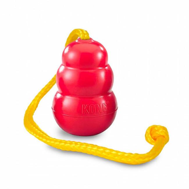 Jouet à lancer avec corde pour chien KONG Classic