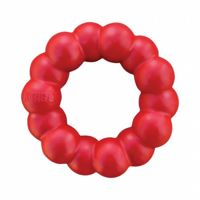 Jouet anneau à mâcher résistant pour chien KONG Classic Ring