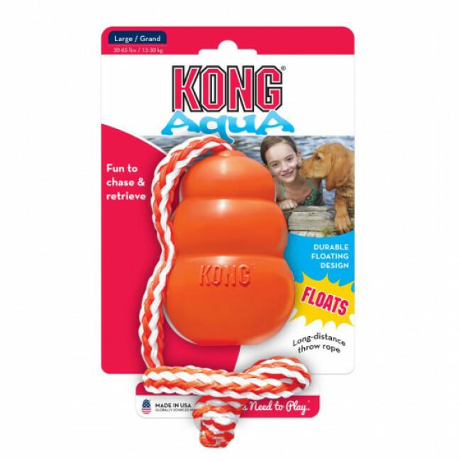 Jouet avec corde pour chien KONG Aqua