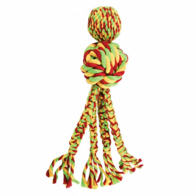 Jouet avec cordes pour chien KONG Wubba Weaves