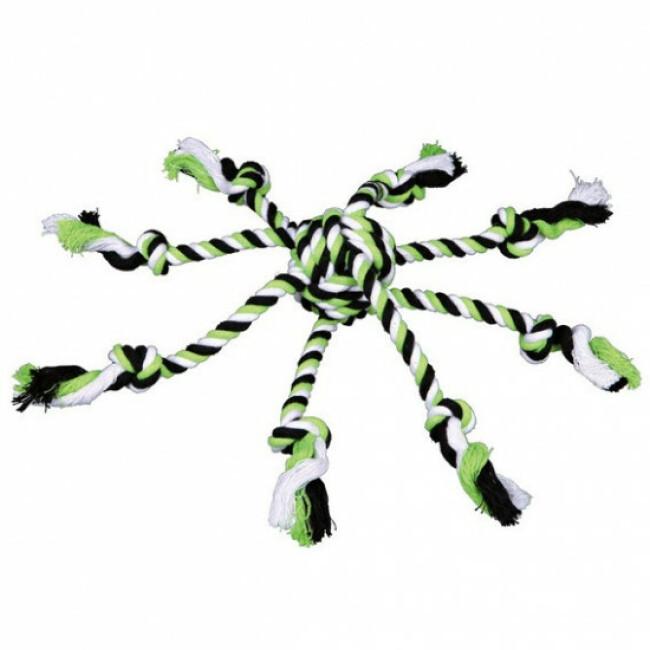 Jouet corde pieuvre pour chien Denta Fun