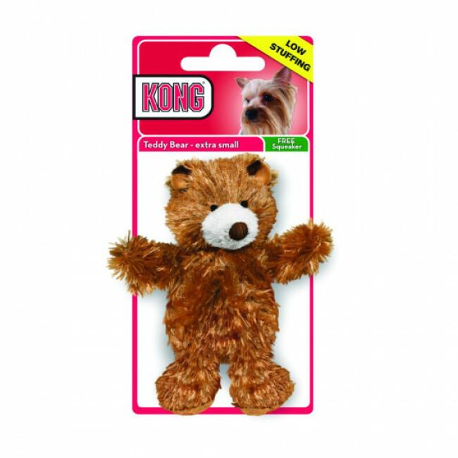 Jouet couineur peluche ourson pour chien KONG Teddy Bear