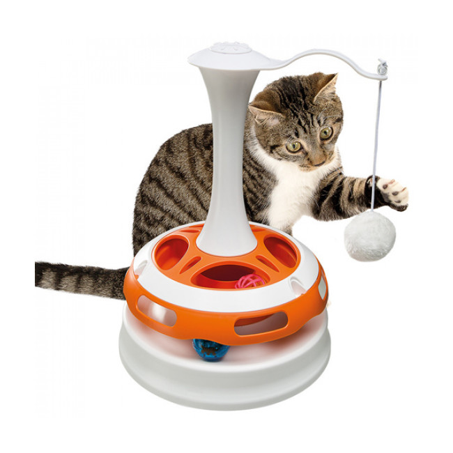 Jouet d'occupation pour chat Tornado