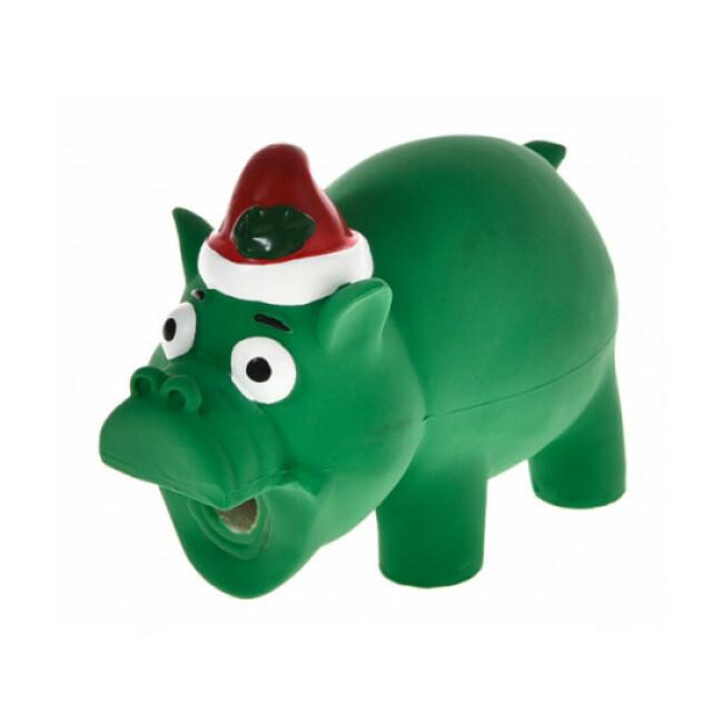 Jouet en latex Bubimex cochon Père Noël pour chien