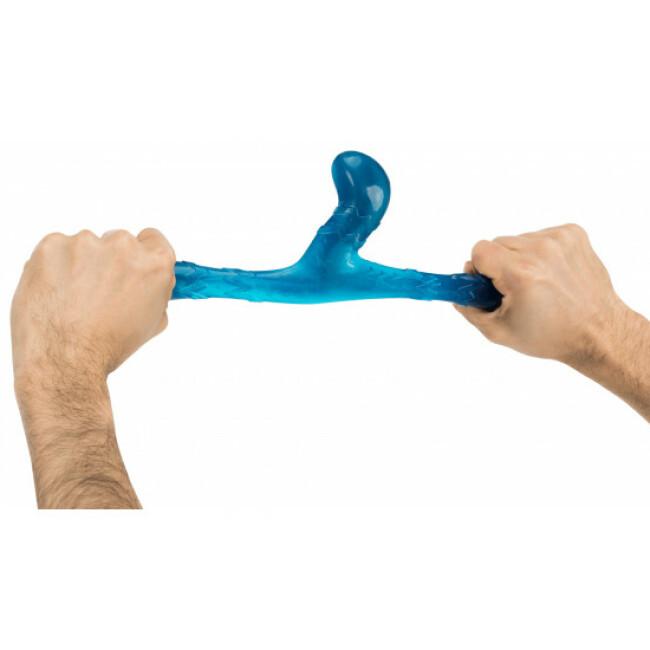 Jouet naturel résistant pour chien Bungee Boomerang Triplex
