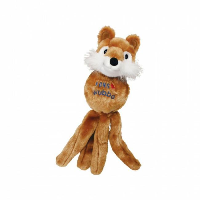 Jouet peluche à couinement pour chien KONG Wubba Friend