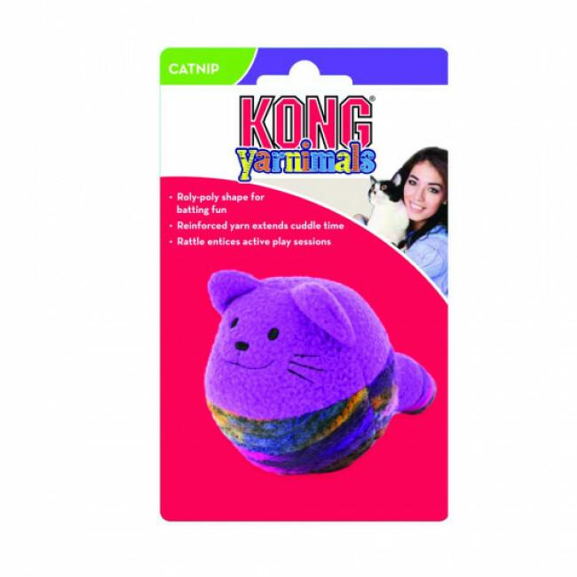 Jouet pour chat forme à bascule KONG Roly Poly Shape