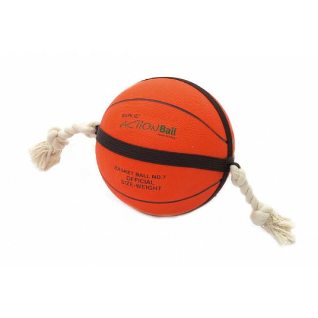 Jouet pour chien ActionBall Basketball orange Flamingo diamètre 24 cm