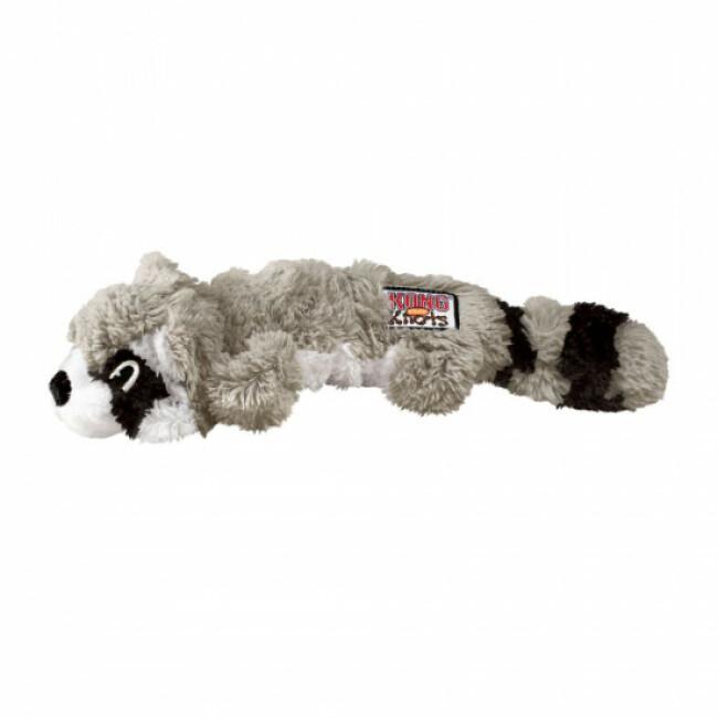 Jouet raton laveur rembourrage corde pour chien KONG Scrunch Knots