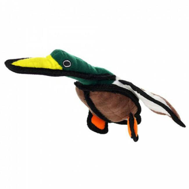 Jouet très résistant pour chien forme canard Tuffy Duck