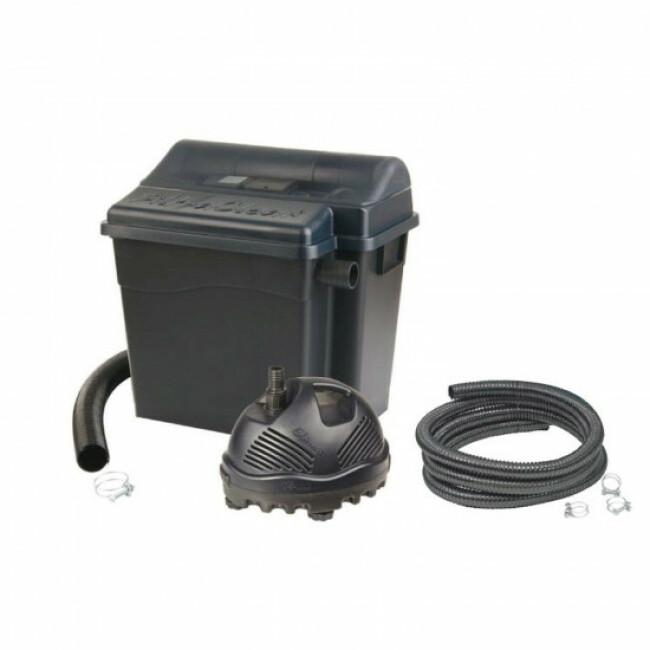 Kit filtration FiltraClear Ubbink Filtre + UV + Pompe pour bassin