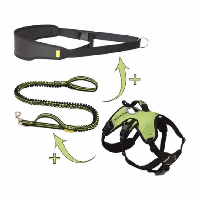 Kit randonnée GSC Kn'1 (harnais, laisse, ceinture, mousqueton)